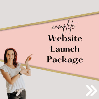 Pre-designed website Ultimate launch package